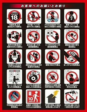 出入り禁止ルール